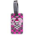 Princess Skull Heart Luggage Tag (two sides)