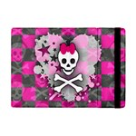 Princess Skull Heart Apple iPad Mini Flip Case