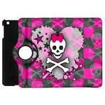 Princess Skull Heart Apple iPad Mini Flip 360 Case