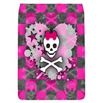 Princess Skull Heart Removable Flap Cover (Large)