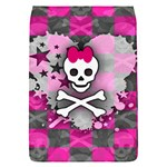 Princess Skull Heart Removable Flap Cover (Small)