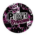 Punk Princess Ornament (Round)