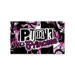 Punk Princess Sticker Rectangular (10 pack)