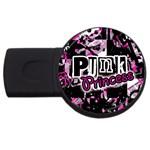 Punk Princess USB Flash Drive Round (4 GB)