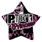 Punk Princess Star Ornament (Two Sides)