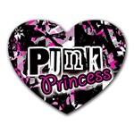 Punk Princess Mousepad (Heart)