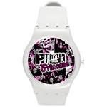 Punk Princess Round Plastic Sport Watch Medium