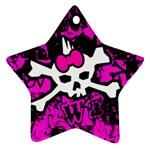 Punk Skull Princess Ornament (Star)