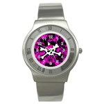 Punk Skull Princess Stainless Steel Watch