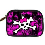 Punk Skull Princess Digital Camera Leather Case