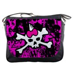 Punk Skull Princess Messenger Bag