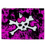 Punk Skull Princess Cosmetic Bag (XXL)