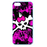 Punk Skull Princess Apple Seamless iPhone 5 Case (Color)