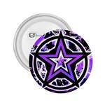 Purple Star 2.25  Button