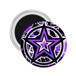 Purple Star 2.25  Magnet