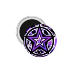 Purple Star 1.75  Magnet