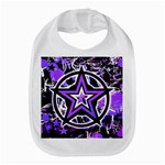 Purple Star Bib