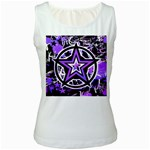 Purple Star Women s Tank Top
