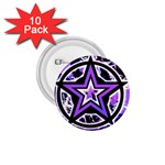 Purple Star 1.75  Button (10 pack)