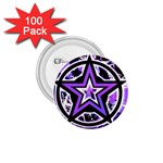 Purple Star 1.75  Button (100 pack)
