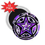 Purple Star 2.25  Magnet (10 pack)
