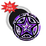 Purple Star 2.25  Magnet (100 pack)