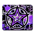 Purple Star Large Mousepad
