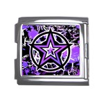 Purple Star Mega Link Italian Charm (18mm)