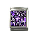 Purple Star Italian Charm (13mm)