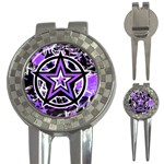 Purple Star 3-in-1 Golf Divot