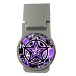 Purple Star Money Clip (Round)