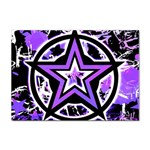 Purple Star Sticker (A4)