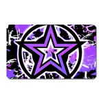 Purple Star Magnet (Rectangular)