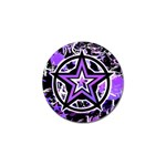 Purple Star Golf Ball Marker