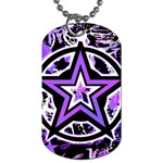 Purple Star Dog Tag (Two Sides)