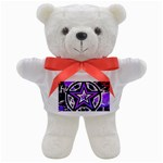 Purple Star Teddy Bear