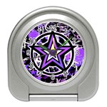 Purple Star Travel Alarm Clock
