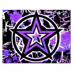 Purple Star Jigsaw Puzzle (Rectangular)