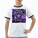 Purple Star Ringer T