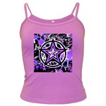 Purple Star Dark Spaghetti Tank