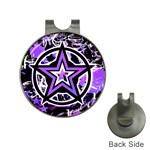 Purple Star Golf Ball Marker Hat Clip