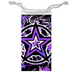 Purple Star Jewelry Bag