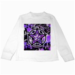 Purple Star Kids Long Sleeve T-Shirt