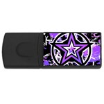 Purple Star USB Flash Drive Rectangular (4 GB)
