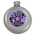 Purple Star Hip Flask (5 oz)