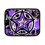 Purple Star Netbook Case (Small)