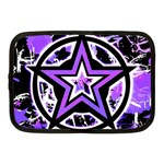 Purple Star Netbook Case (Medium)