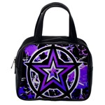 Purple Star Classic Handbag (One Side)
