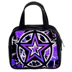 Purple Star Classic Handbag (Two Sides)