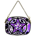 Purple Star Chain Purse (One Side)